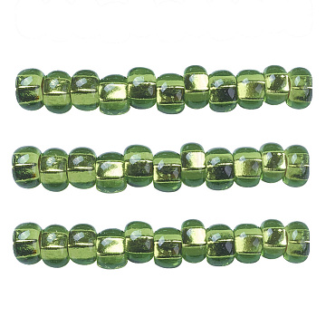 4mm Lime Glass Beads
