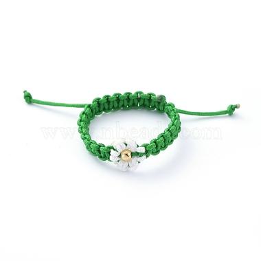 Green Nylon Finger Rings