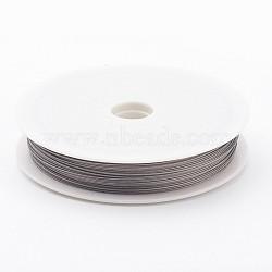 Tiger Tail Wire, Nylon-coated Steel, LightGrey, 0.5mm; 35m/roll(X-TWIR-0.5D)
