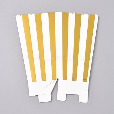 Stripe Pattern Paper Popcorn Boxes(X-CON-L019-A-01A)-2