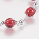 Glass Round Beads Bracelets(BJEW-F298-02C)-2