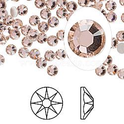 cristal autrichien cabochons de strass, passions de cristal, déjouer retour, Xirius rose, 2088, 319 _vintage rose, 3.8~4 mm(X-2088-SS16-319(F))