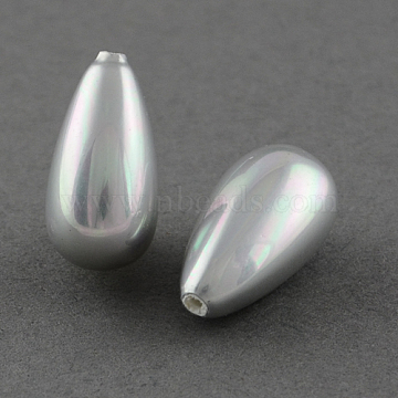 16mm Thistle Drop Shell Pearl Beads