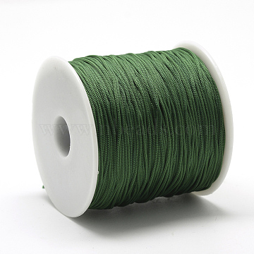 0.8mm Green Polyester Thread & Cord