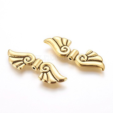 44mm Wing Alloy Beads