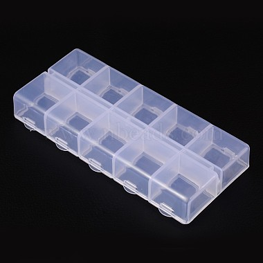 Cuboid Plastic Bead Containers(X-CON-N007-02)-3