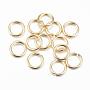Golden Ring 304 Stainless Steel Open Jump Rings(X-STAS-H558-04G)