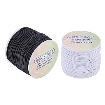 BENECREAT Elastic Cord, Mixed Color, 2mm, about 54.68 yards(50m)/roll, 2rolls/set(EC-BC0001-04)