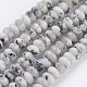 Natural Snowflake Obsidian Beads Strands(G-K255-13A)-1