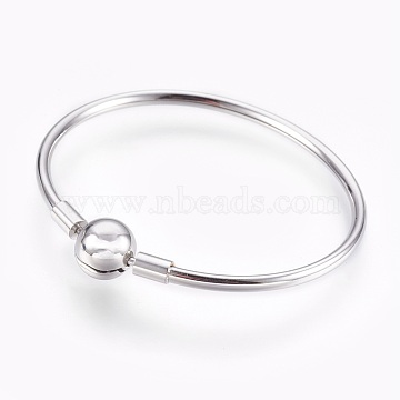 3mm Stainless Steel Bangles