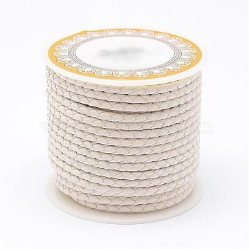 3mm White Leather Thread & Cord