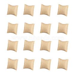 Конопляная подушка, ювелирные браслеты / часы, деревесиные, 7.8x7x4.65 см(BDIS-WH0002-01)
