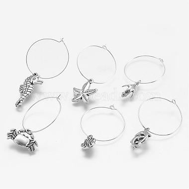 Alloy Wine Glass Charms