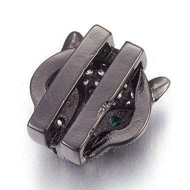 Brass Micro Pave Cubic Zirconia Slide Charms(ZIRC-E154-09-NR)-3