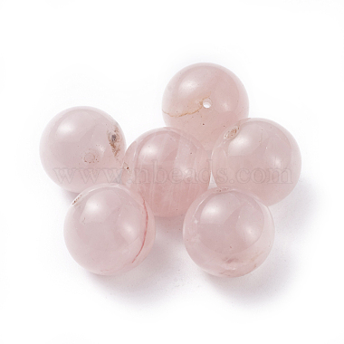 12mm Round Rose Quartz Beads