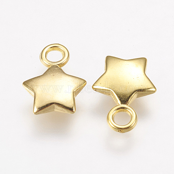 14mm Star Acrylic Charms