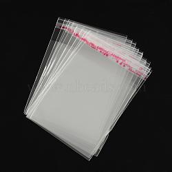 OPP sacs de cellophane, rectangle, clair, 8x6 cm, épaisseur unilatérale: 0.035 mm
