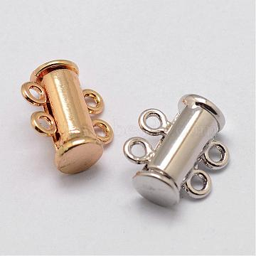 Mixed Color Alloy Clasps