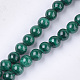 Synthetic Malachite Beads Strands(G-S333-6mm-028)-1