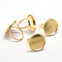 Golden Iron Ring Components(MAK-Q006-02)