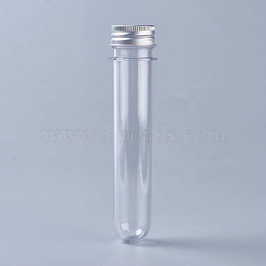 Clear Tube Plastic Beads Containers