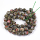 Natural Unakite Beads Strands(G-S348-05)-2