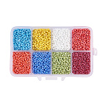 2mm Mixed Color Glass Beads(SEED-PH0006-2mm-06)