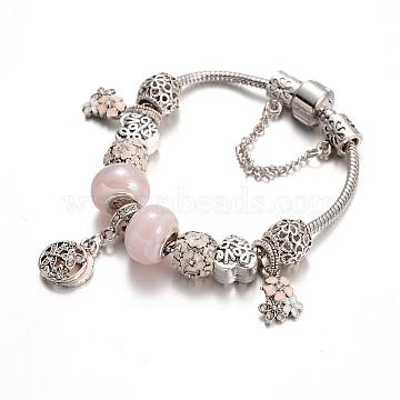 LavenderBlush Brass Bracelets