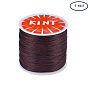 0.5mm SaddleBrown Waxed Polyester Cord Thread & Cord(YC-PH0002-04D-0.5mm)