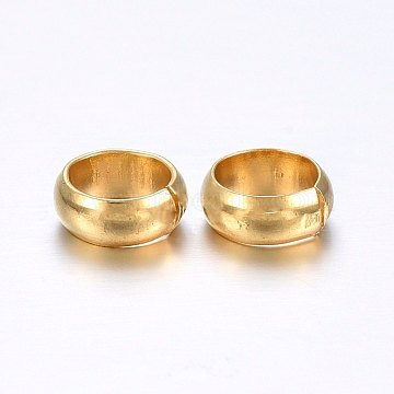 Golden Stainless Steel Beads