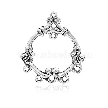 Antique Silver Ring Alloy Links