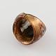 Handmade Gold Sand Millefiori Lampwork Rings(RJEW-Q150-M12-B)-3