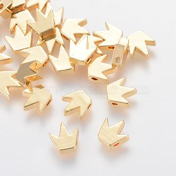Golden Crown Brass Beads
