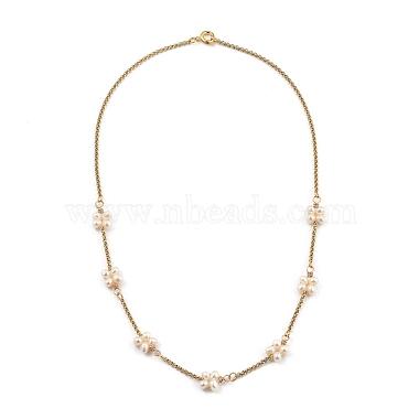 Beaded Necklaces(NJEW-JN02975)-1