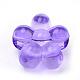 Transparent Acrylic European Beads(TACR-S144-14)-2