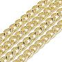 Gold Aluminum Curb Chains Chain(CHA-S001-022B)