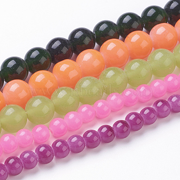 6mm Mixed Color Round Beads