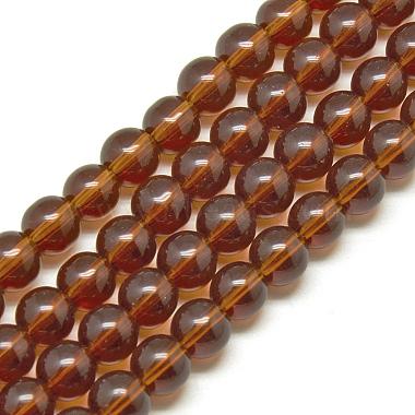 Glass Beads Strands(X-GR4mm65Y)-1