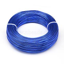 Fil d'aluminium, bleu royal, Jauge 20, 0.8 mm; 300 m / 500 g(AW-S001-0.8mm-09)