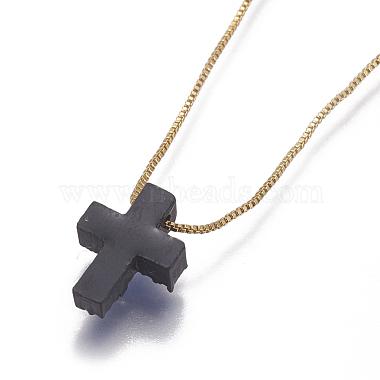 Brass Pendant Necklaces(NJEW-I105-06G)-3
