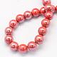 Pearlized Handmade Porcelain Round Beads(X-PORC-S489-6mm-14)-2