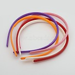 Mixed Color Plastic Hair Bands(PJH103Y)