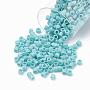 2mm Cyan Delica Beads Medium(DBM) Glass Beads(SEED-S015-DBM-0878)