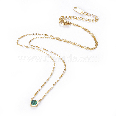 304 Stainless Steel Pendant Necklaces(NJEW-O118-10)-2