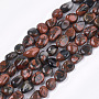 Natural Brecciated Jasper Beads Strands, Nuggets, 8~19x8~12x4~8mm, Hole: 0.8mm; about 37pcs/strand, 15.9""