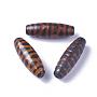 Rice Tibetan Agate Beads(X-G-I233-A04)