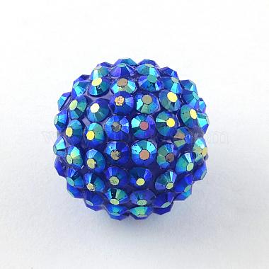 ab-perles de couleur strass de résine(RESI-S315-20x22-17)-1