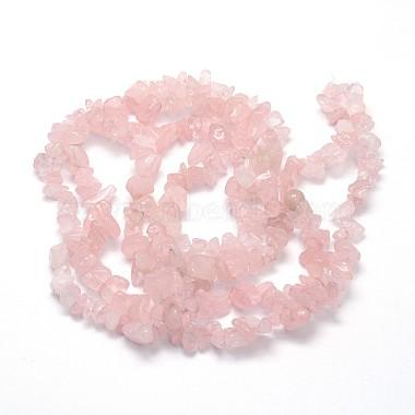 Natural Rose Quartz Beads Strands(X-G-O049-B-36)-2