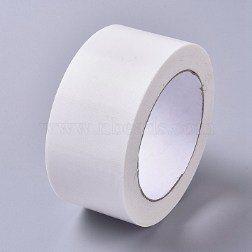 Anti Slip Adhesive Tape, Floor Marking Tape, for DIY Fixed Carpet Hand Tools, White, 50x0.3mm; about 20m/roll(AJEW-WH0105-79B)