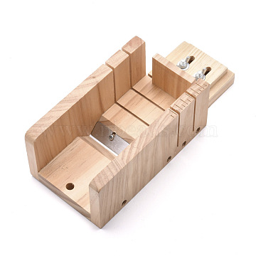 Pine Wooden Soap Cutting Tools, with Beveler Planer Cutting Tools, for Handmade Soap Making Supplies, BurlyWood, 27x11.5x8.35cm(DIY-F057-01)